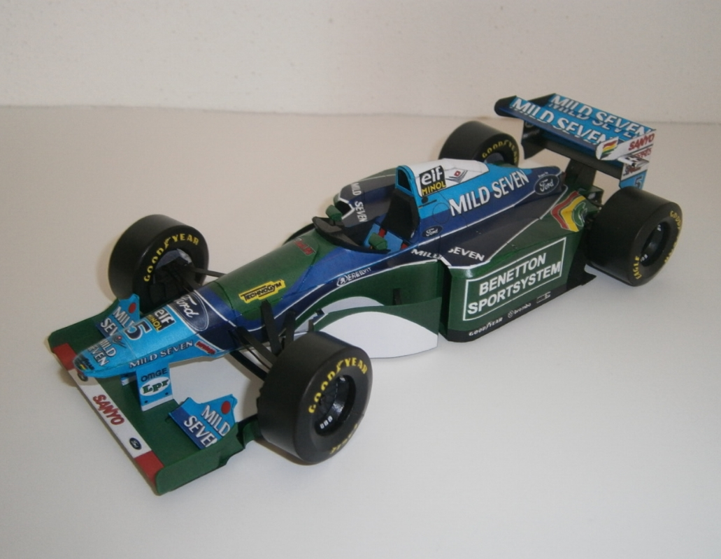 Benetton B194 - M.Schumacher, GP Monaco 1994