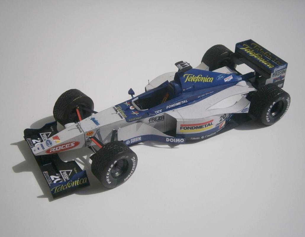 Minardi M01 - Luca Badoer, GP European-Nürburgring 1999