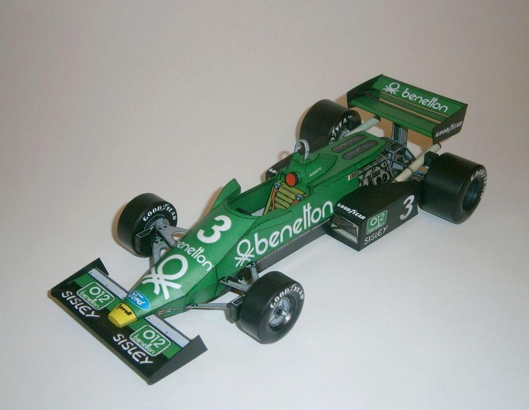 Tyrrell 011B - M.Alboreto 1983