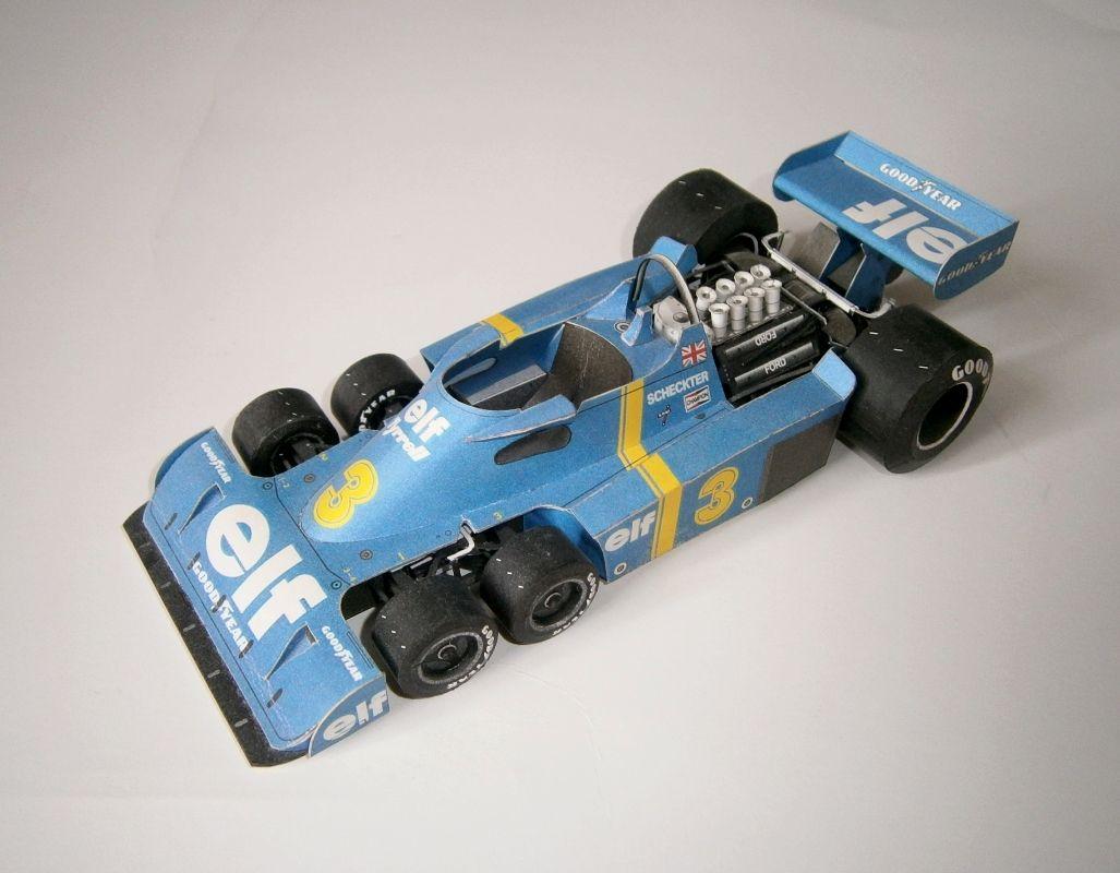 Tyrrell P34 - J.Scheckter 1976