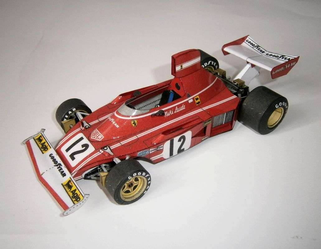 Ferarri 312 B3 - Niki Lauda, GP Dutch 1974