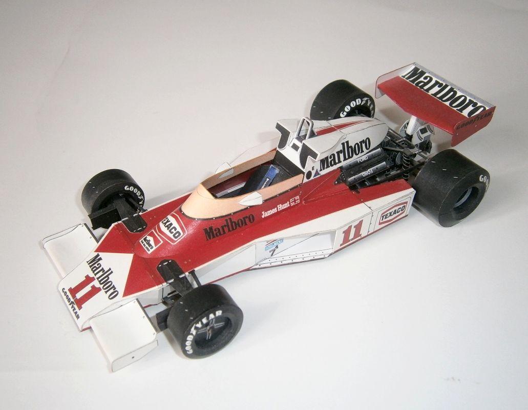 McLaren M23 - J.Hunt 1977