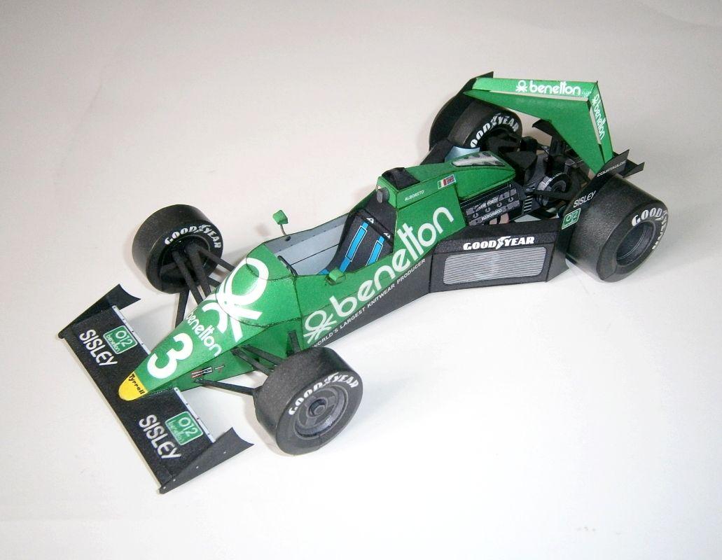 Tyrrell Ford 012-1 - M.Alboreto 1983