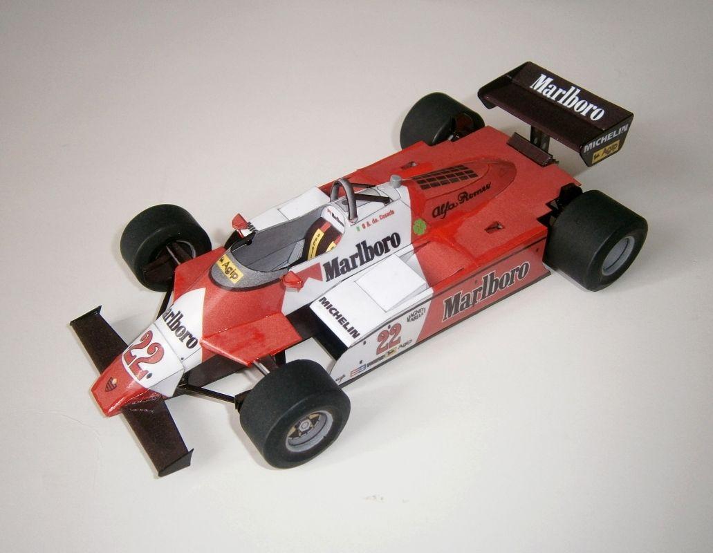 Alfa Romeo 182T - A.de Cesaris, GP Monaco 1982