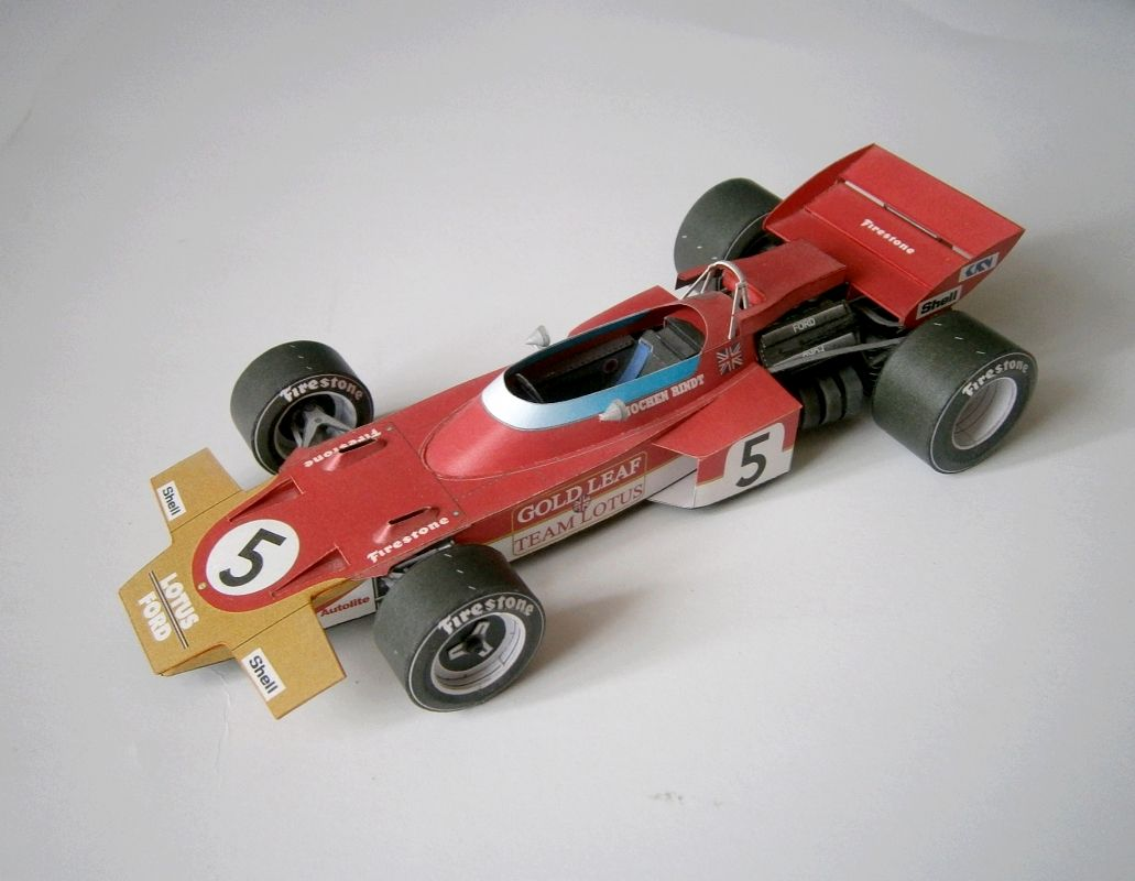 ABC - Lotus 72 - J.Rindt, GP Italy 1970