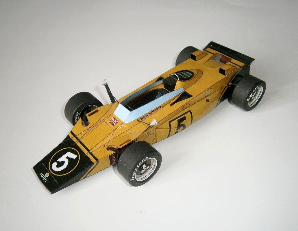Lotus 56B - E.Fittipaldi, GP Italian Monza 1971