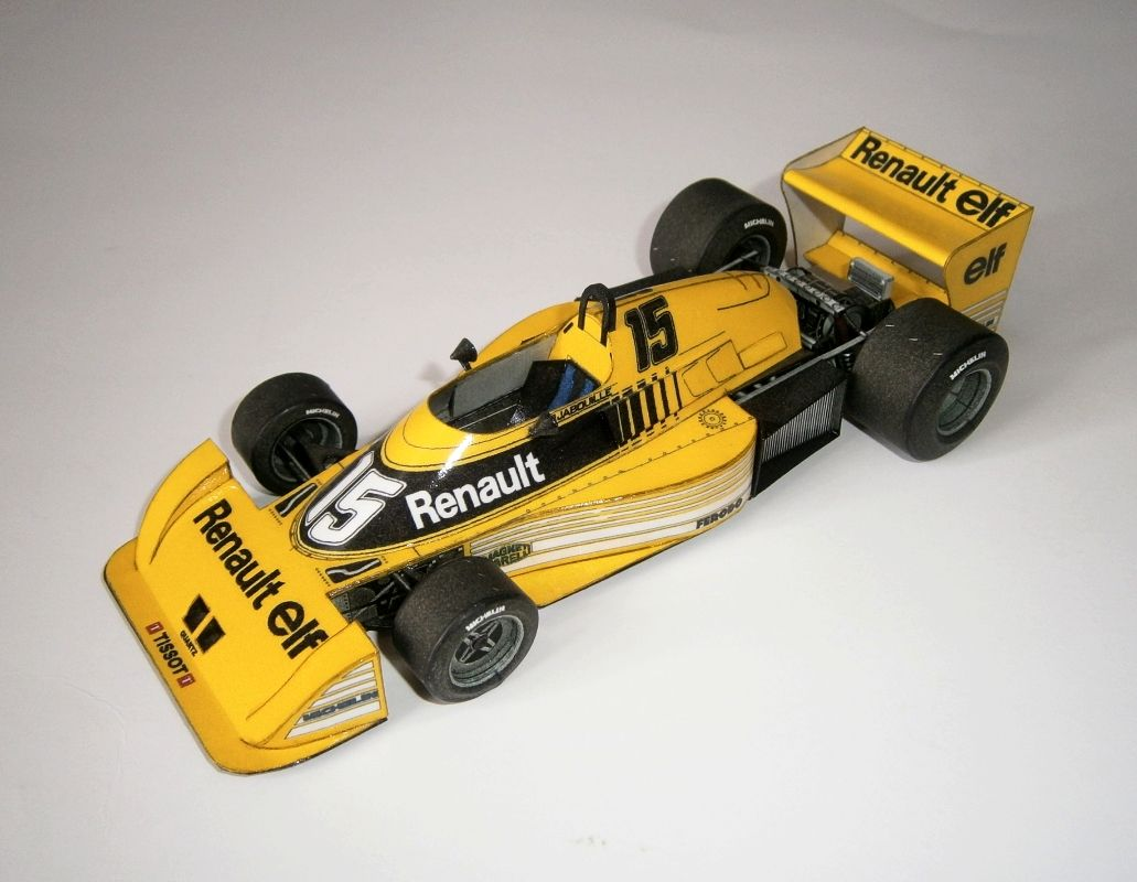 Renault RS01 - J.P.Jabouille - test car 1977