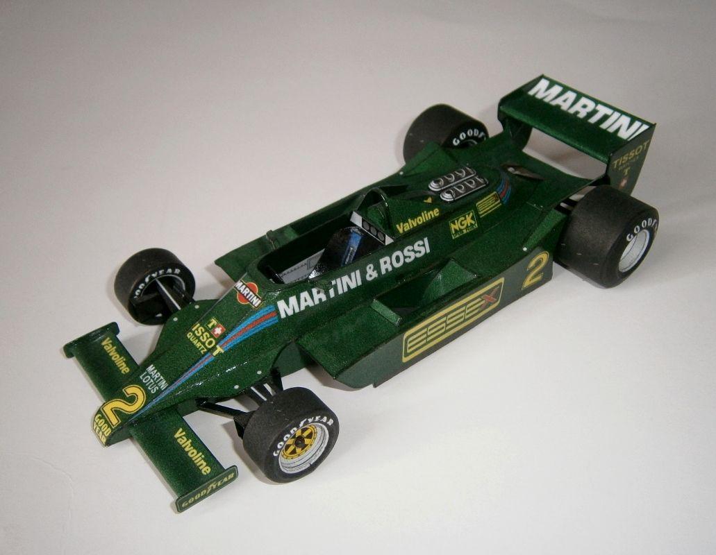 Lotus 79 - C.Reutemann, GP Monaco 1979