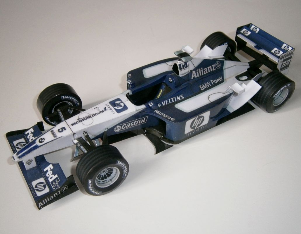 Williams FW24 - R.Schumacher, GP USA 2002