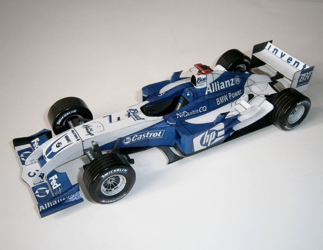Williams FW26 - J. P. Montoya 2004