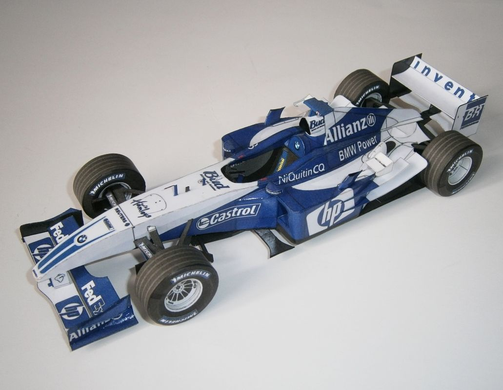 Williams FW26B - R.Schumacher 2004