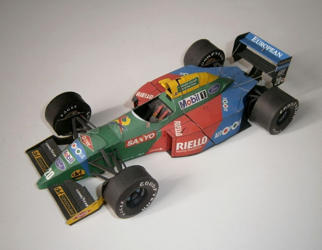 Benetton B190A - N.Piquet 1990