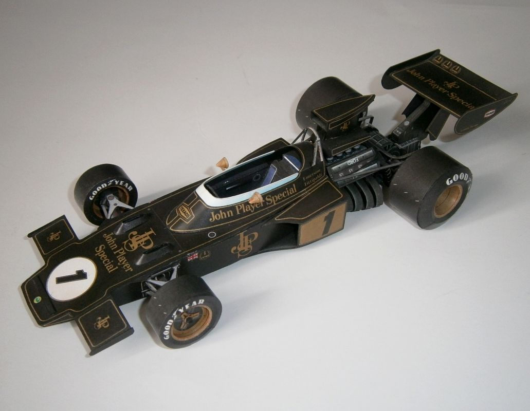 Lotus 72D - E.Fittipaldi, GP France 1973