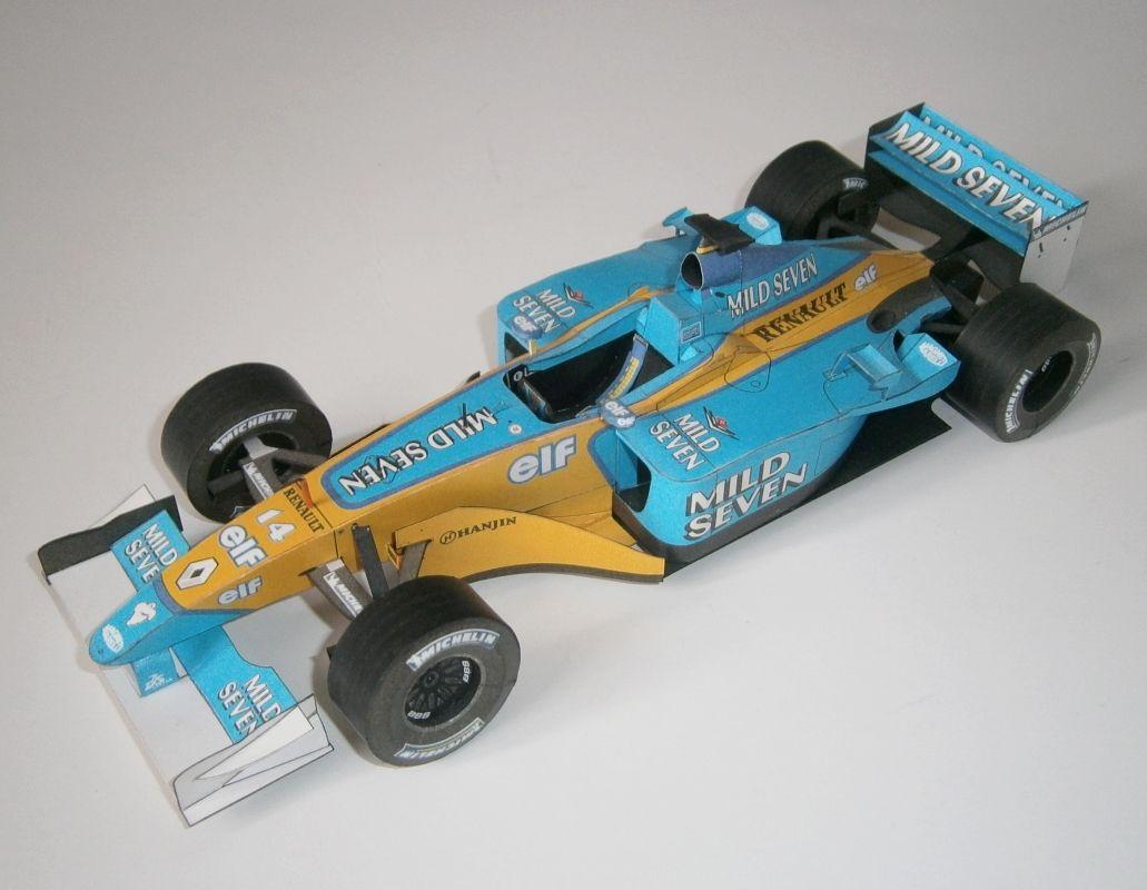Renault R202 - J.Trulli 2002