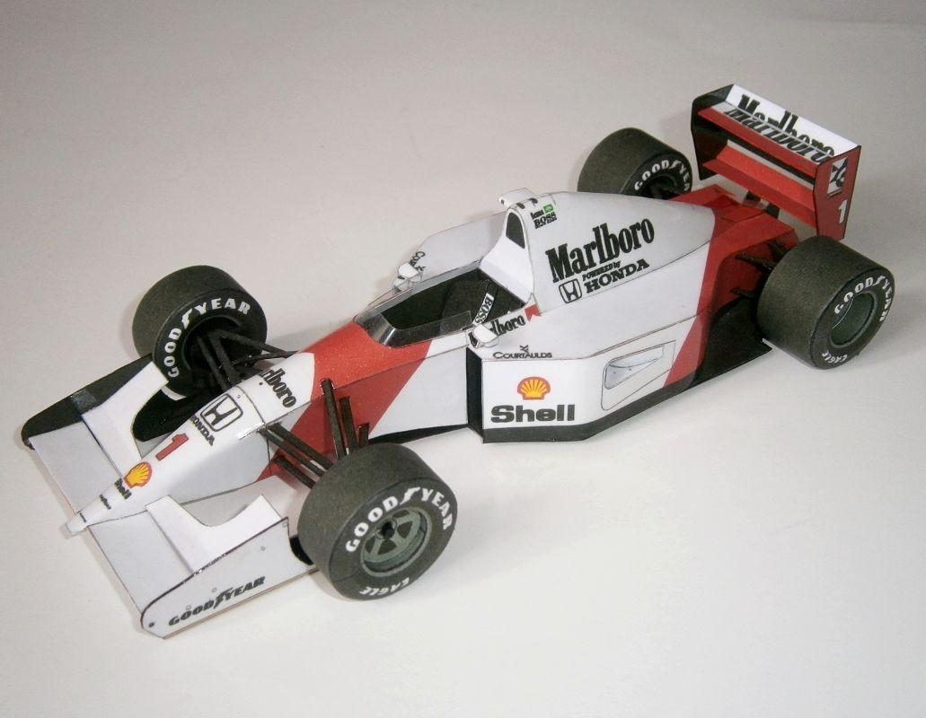 McLaren MP4-7A - A.Senna 1992