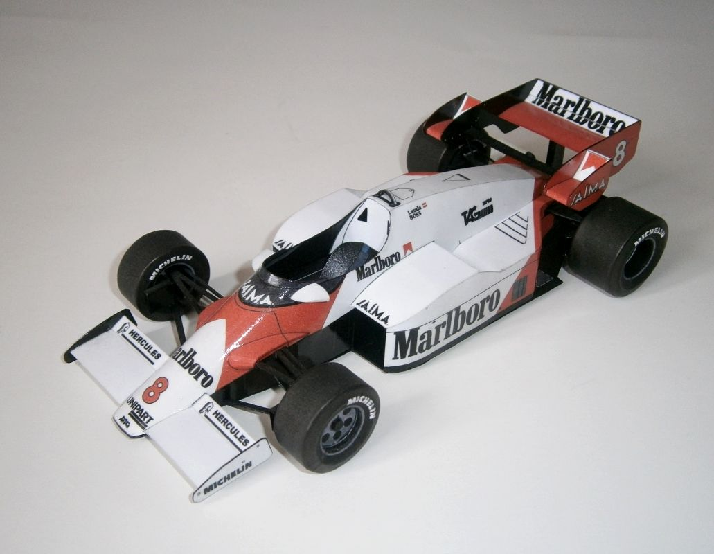 McLaren MP4-2 - Niki Lauda, GP Austrian 1984