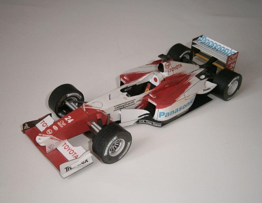 Toyota TF102 - M.Salo 2002