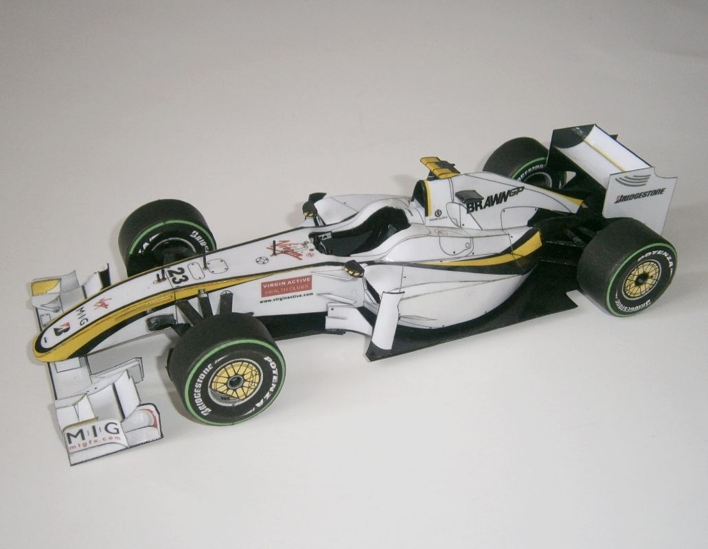 Brawn GP Mercedes BGP 001- R.Barrichello, GP Europe 2009