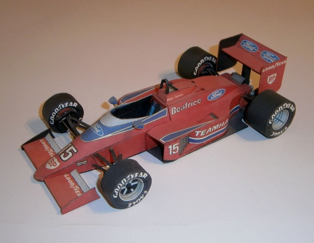 ABC - Lola Haas THL-2 Ford - A.Jones 1986