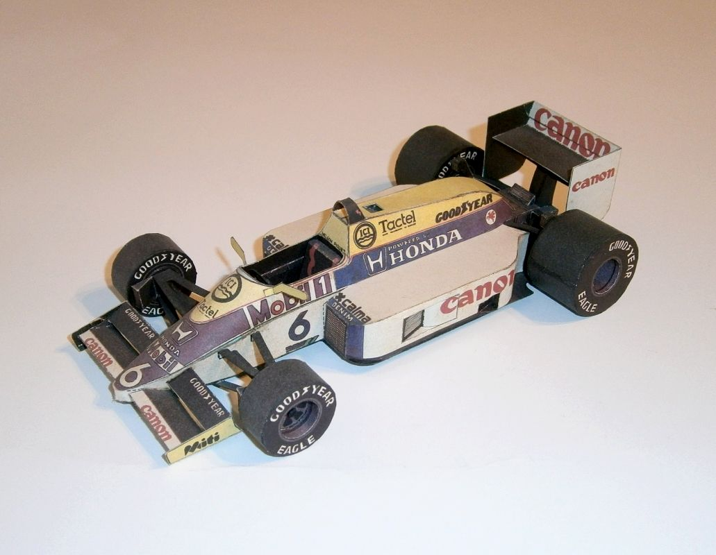 ABC - Williams FW11 - N.Piquet 1986