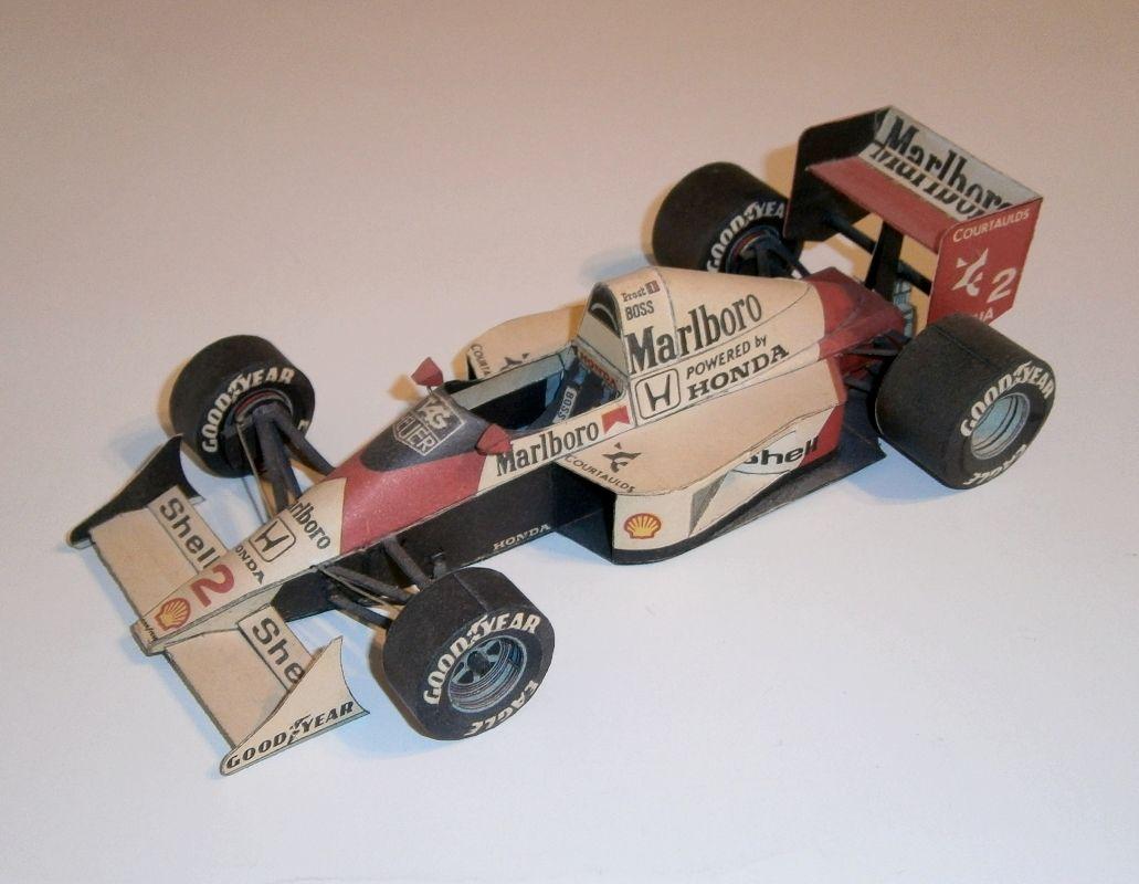 ABC - McLaren MP4-5 - A.Prost 1989