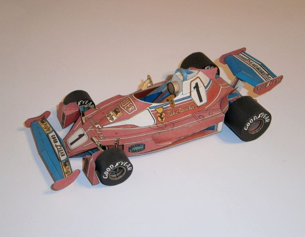 ABC - Ferrari 312 T2 - N.Lauda 1976
