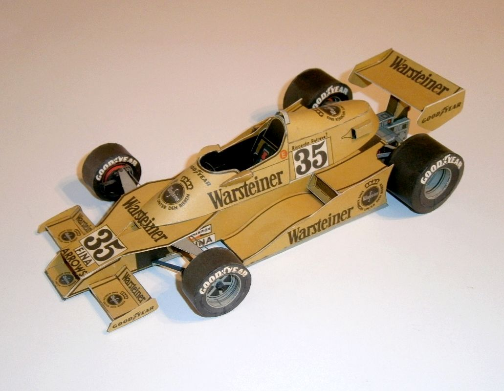 ABC - Arrows FA1 - R.Patrese 1978