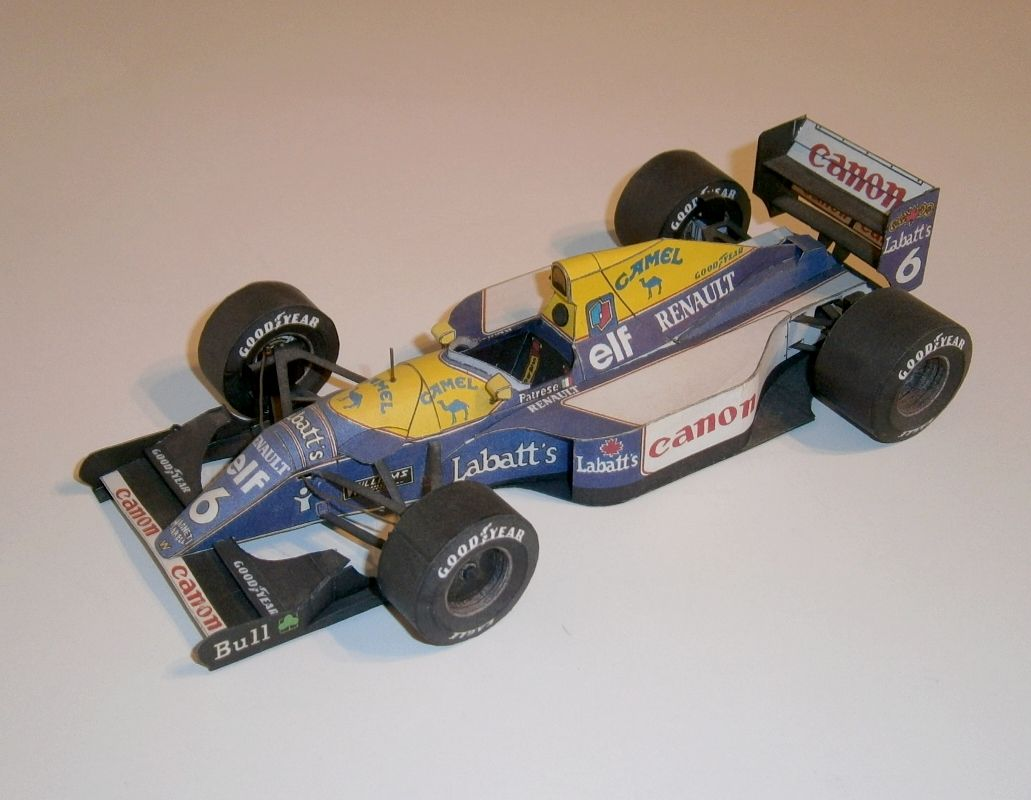 ABC - Williams FW14B - R.Patrese 1992