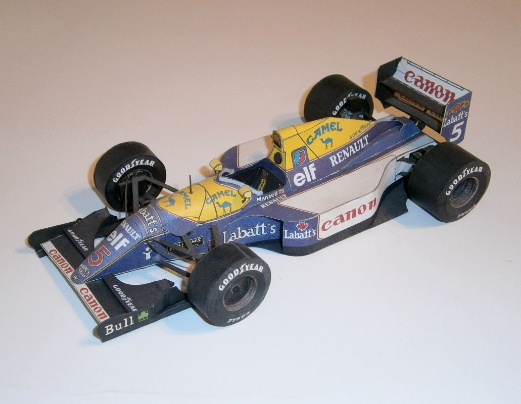 ABC - Williams FW14B - M.Mansell 1992