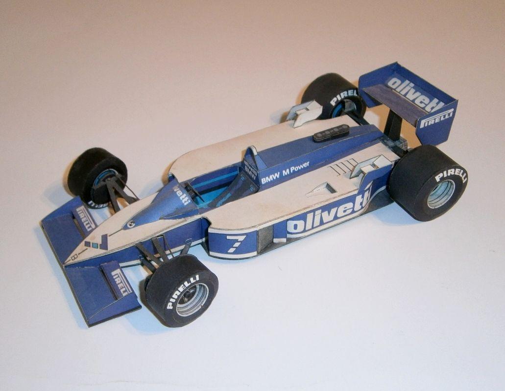 ABC - Brabham BT55 - R.Patrese 1986