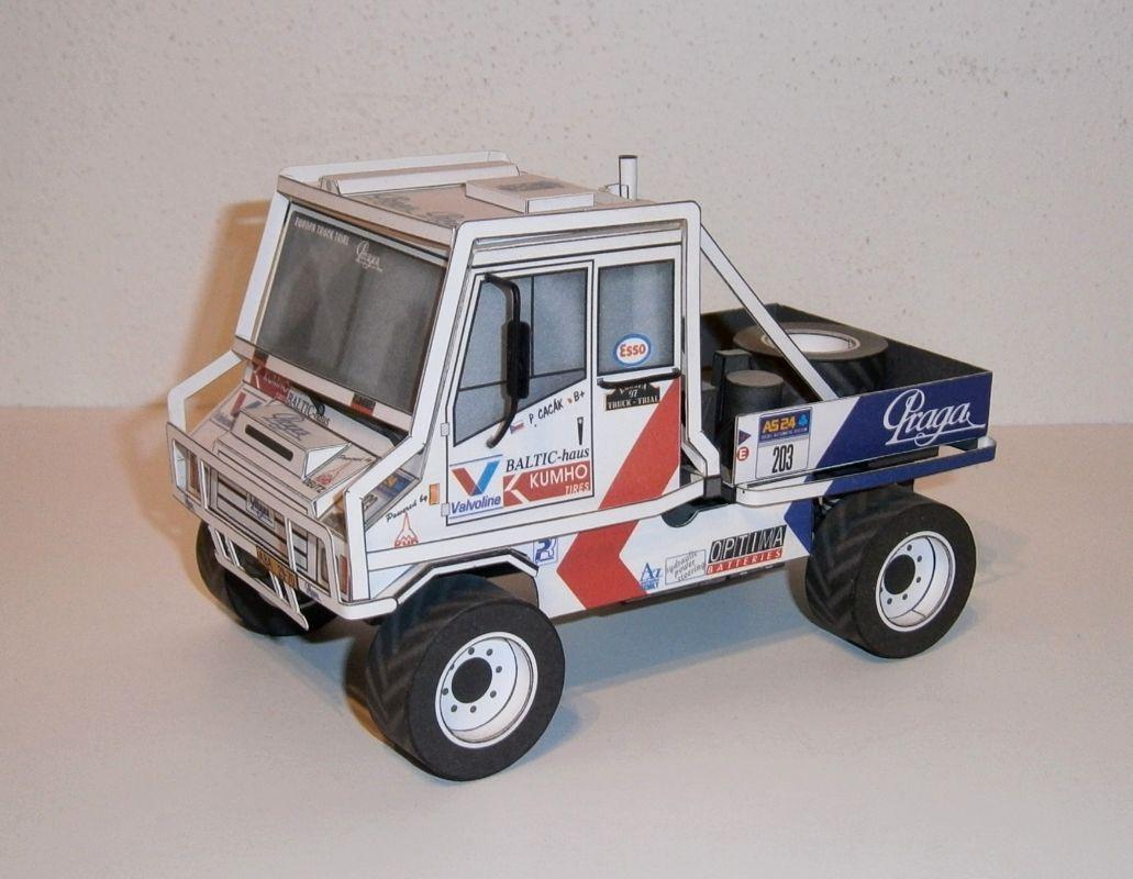 Praga UV 80 Truck Trial 1996