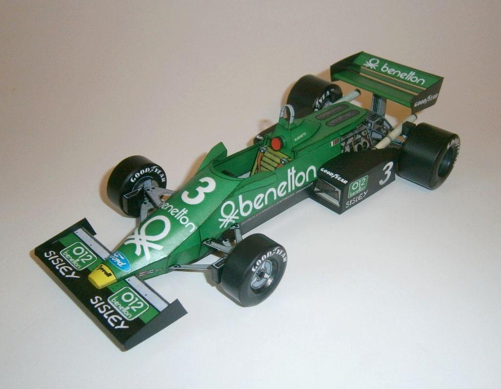 Tyrrell 011B M. Alboreto 1983