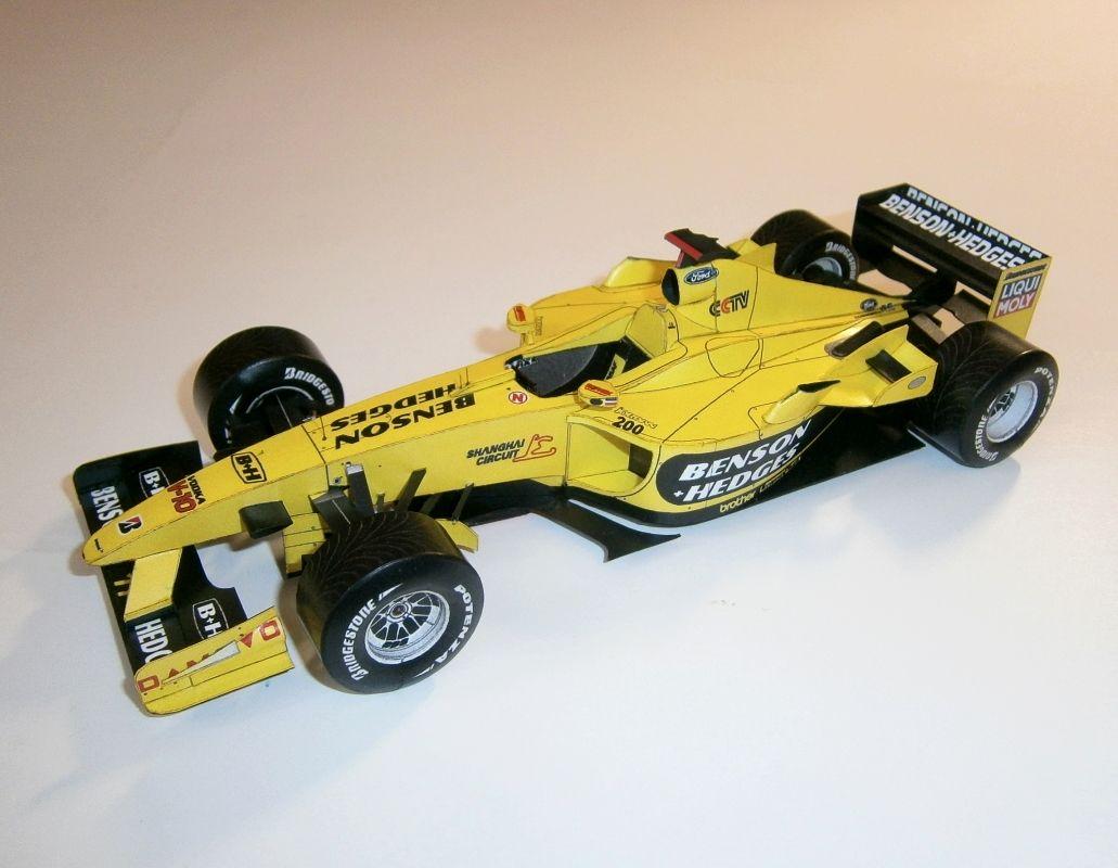 Jordan EJ13 - G.Fissichela, GP Brazil 2003