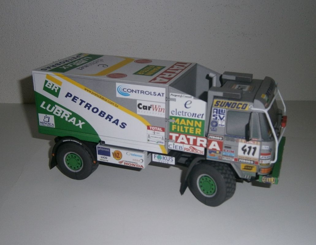 Tatra 815 4x4 Team BR Petrobras Lubrax Dakar 2002