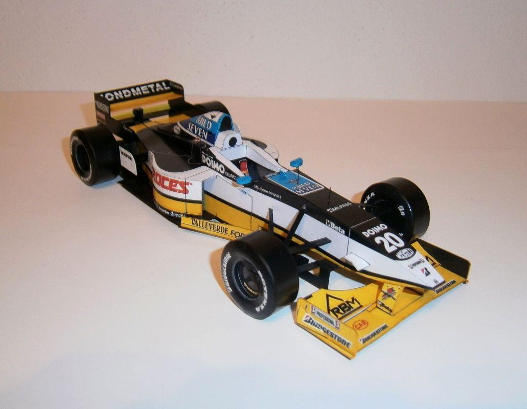Minardi M197-Ukyo Katayama, GP Spanish 1997