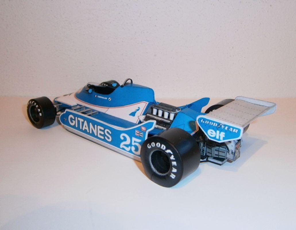 Ligier JS11-P.Depailler,GP Argentine 1979