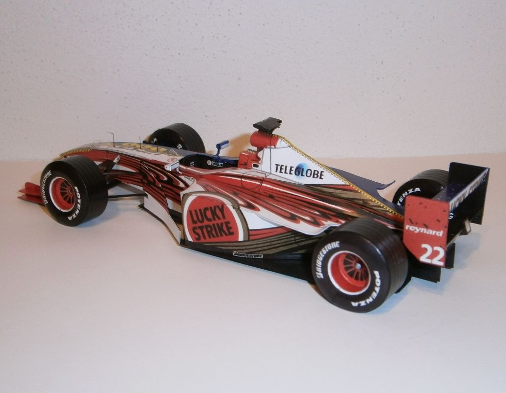 BAR 001 Supertec - J.Villeneuve 1999
