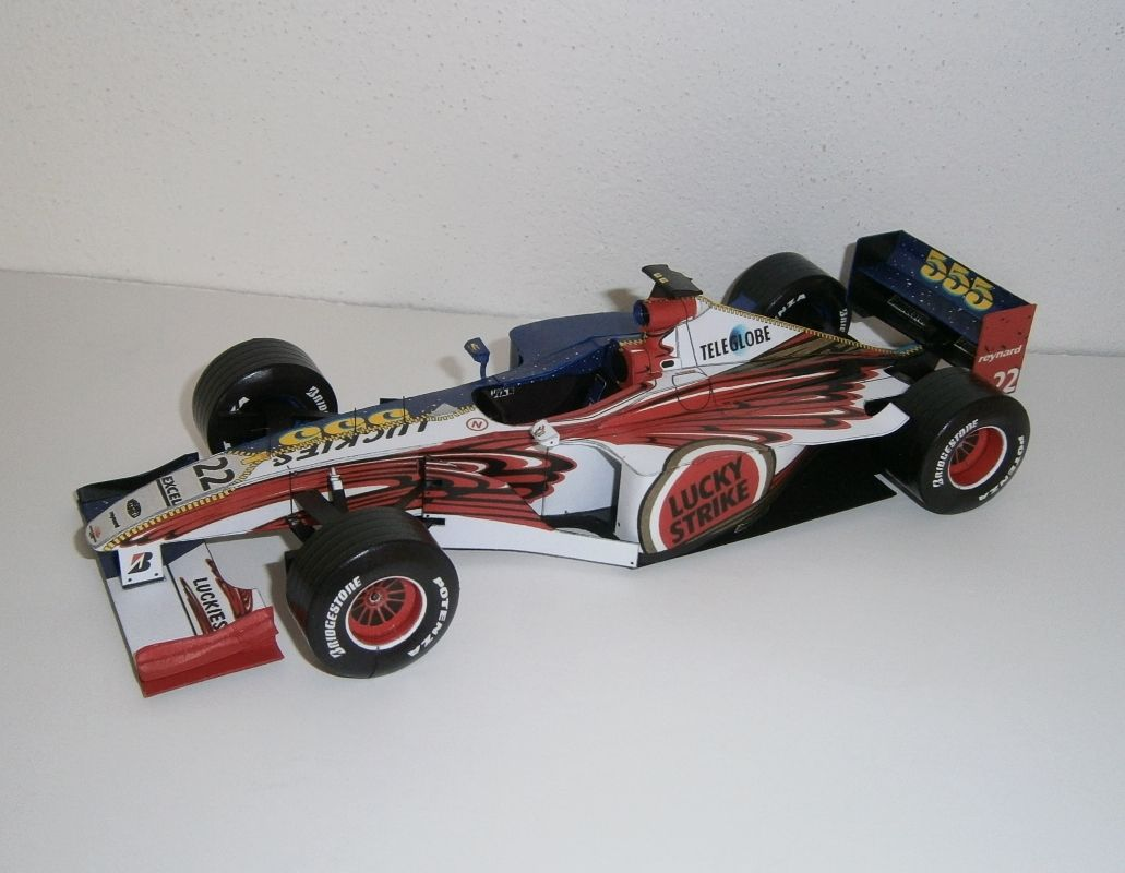 BAR 001 Supertec - J. Villeneuve 1999